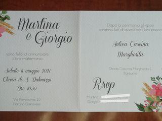 Marilù Wedding Card 2