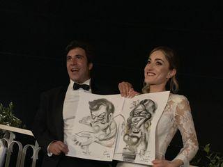 Andrea Damiani caricature 2
