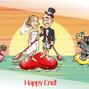 Le nozze di Eliana C. e Valentino caricaturista 17
