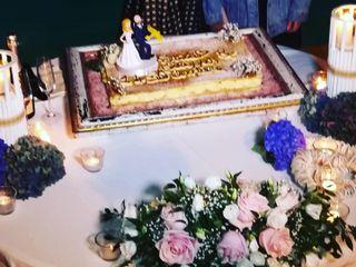 Topper di matrimonio di Caramel's Cake 1
