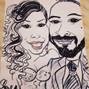 le nozze di Daniela Ciceri e Caricature Charlotte - Caricaturista per Eventi 8