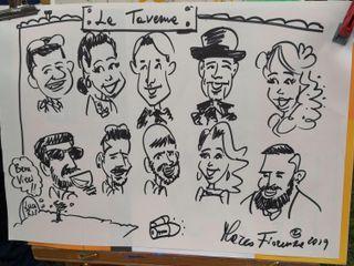 Marco Fiorenza  Caricaturista Ritrattista 2