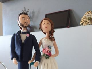 Topper di matrimonio di Caramel's Cake 4