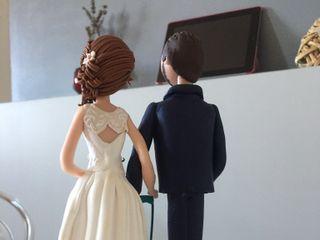 Topper di matrimonio di Caramel's Cake 5