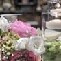 Le nozze di Valentina V. e Rita Milani scenografie floreali 80