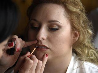 Sara Comi Make Up Artist 2