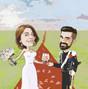 Le nozze di Simone e Ritratti e caricature d'artista 7