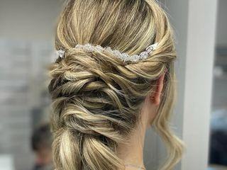 Gioconda Wedding Hair 2