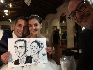 Caricaturista per eventi - Federico Cecchin 1