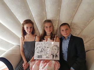 Caricaturista per eventi - Federico Cecchin 4