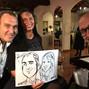 le nozze di Anthea D'errico e Caricaturista per eventi - Federico Cecchin 13