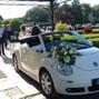 le nozze di Francesca Pasutto e Ivan New Beetle 9