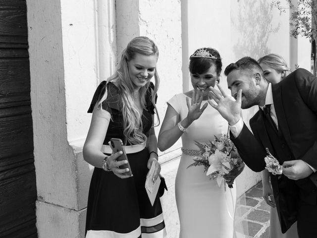 Il matrimonio di Rory e Chelsie a Torri del Benaco, Verona 14