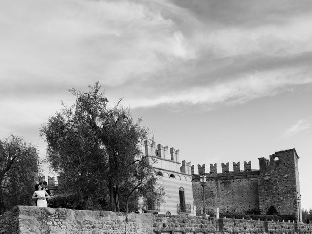 Il matrimonio di Rory e Chelsie a Torri del Benaco, Verona 18