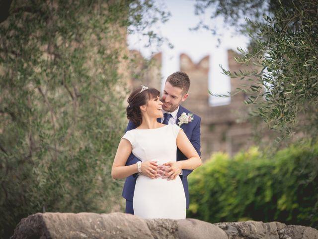 Il matrimonio di Rory e Chelsie a Torri del Benaco, Verona 19