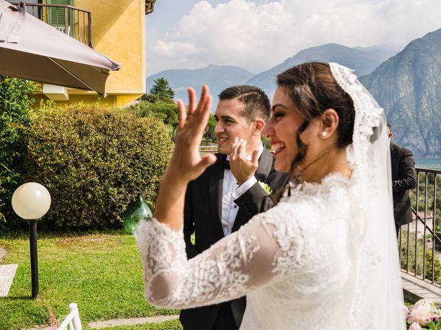 Il matrimonio di Junior e Paulina a Riva di Solto, Bergamo 9