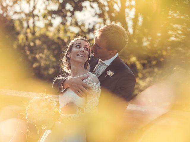 le nozze di Cecilia e Mario