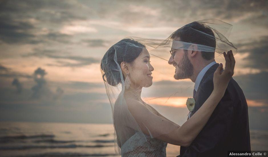 Il matrimonio di Gianluca e Tamara a Forte dei Marmi, Lucca