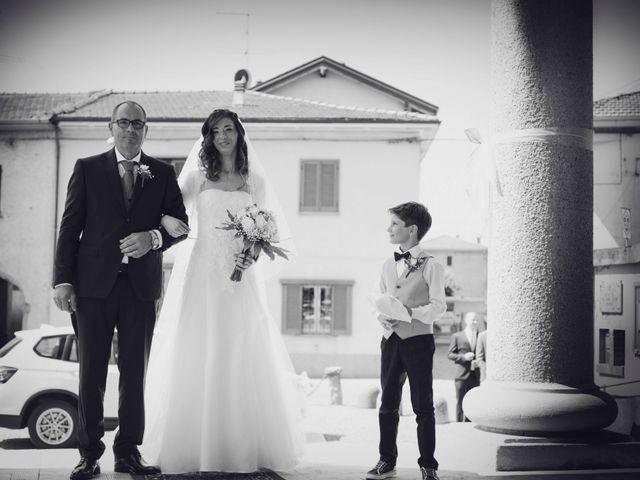 Il matrimonio di Daniele e Sara a Cairate, Varese 5