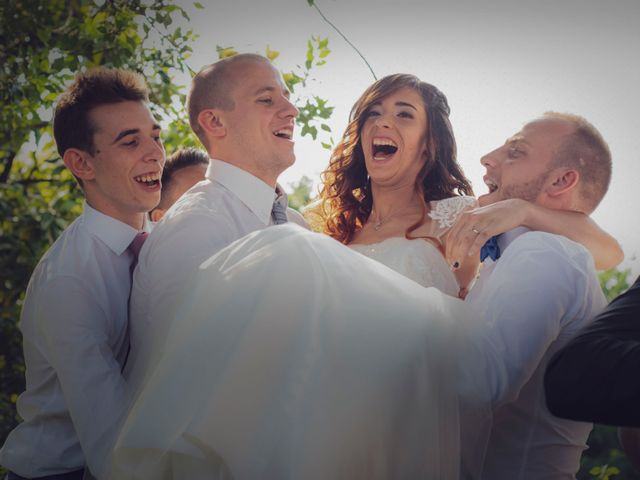 Il matrimonio di Daniele e Sara a Cairate, Varese 12
