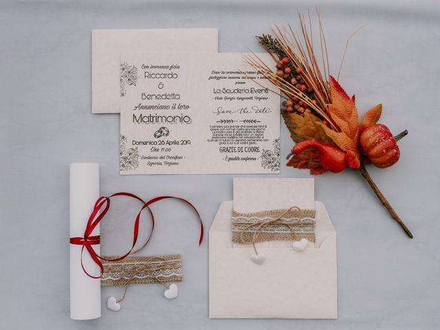 Il matrimonio di Riccardo e Benedetta a Torgiano, Perugia 2