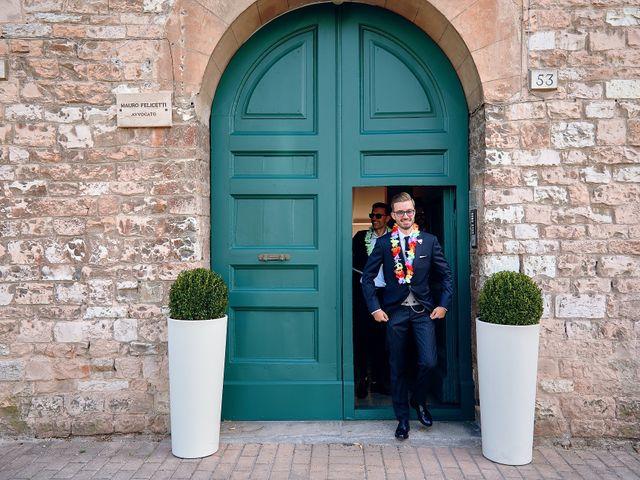 Il matrimonio di Andrea e Marta a Spello, Perugia 41