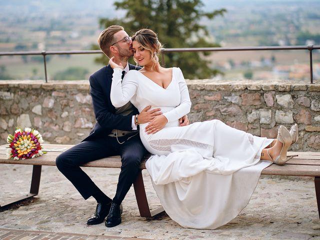 Il matrimonio di Andrea e Marta a Spello, Perugia 75