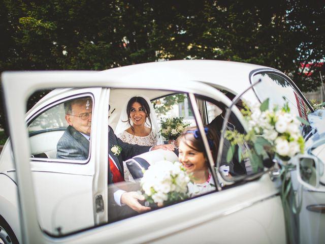 Il matrimonio di Nicolò e Valentina a Gaggiano, Milano 22