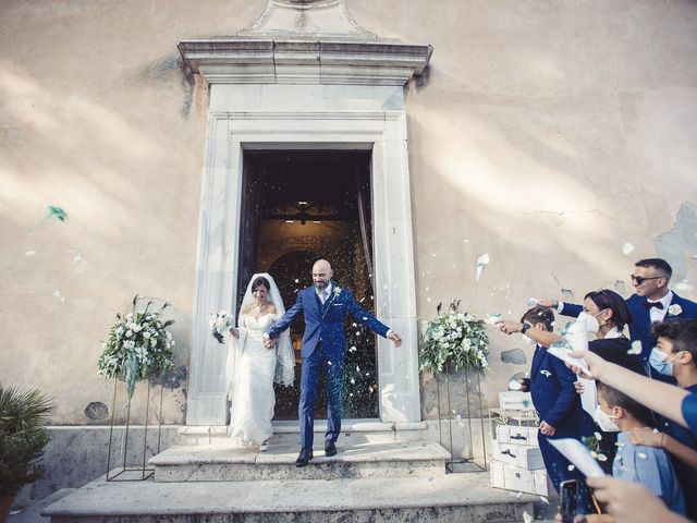 Il matrimonio di Daniele e Roberta a Campagnano di Roma, Roma 17