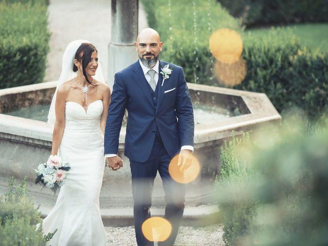 Il matrimonio di Daniele e Roberta a Campagnano di Roma, Roma 27