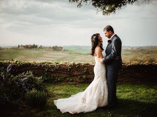 Le nozze di Cristina e Theodore