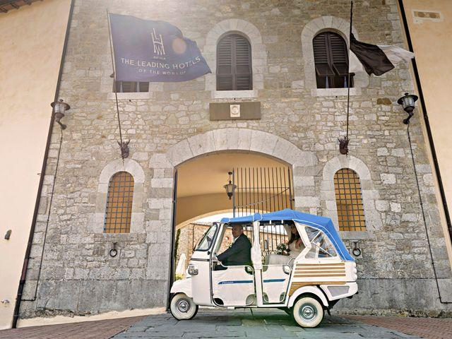 Il matrimonio di Paulo e Anna a Castelnuovo Berardenga, Siena 28