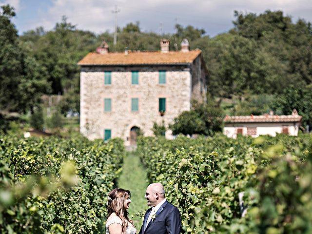 Il matrimonio di Paulo e Anna a Castelnuovo Berardenga, Siena 30
