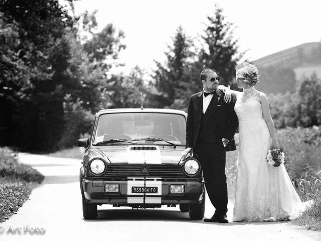 Il matrimonio di Marzia e Fabrizio a Cavour, Torino 40