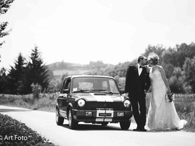 Il matrimonio di Marzia e Fabrizio a Cavour, Torino 41