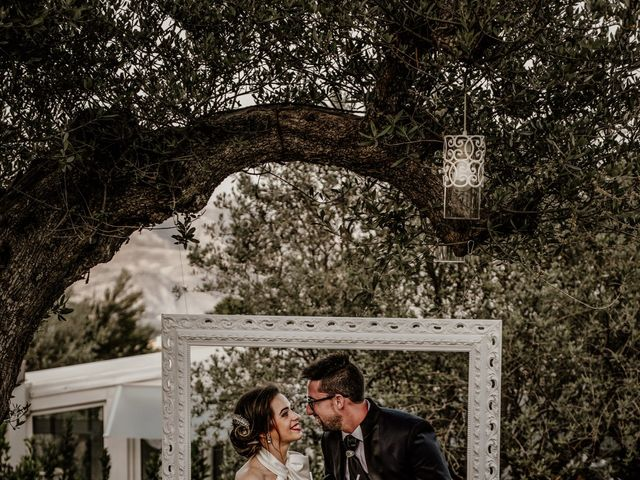 Il matrimonio di Gloria e Antonio a Vallelunga Pratameno, Caltanissetta 61