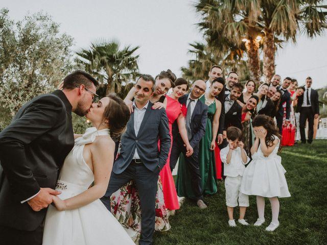 Il matrimonio di Gloria e Antonio a Vallelunga Pratameno, Caltanissetta 1