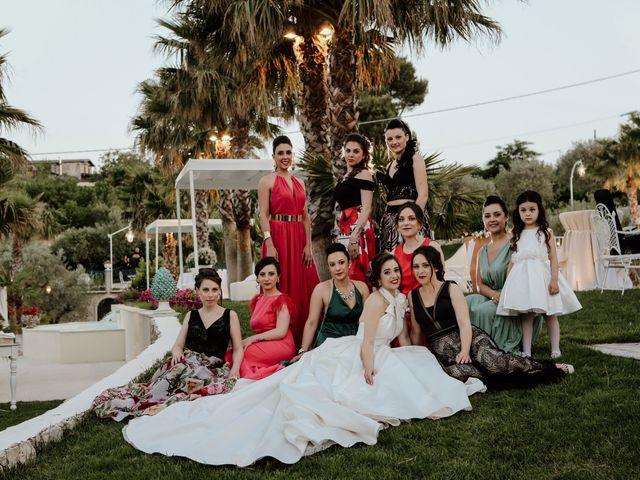 Il matrimonio di Gloria e Antonio a Vallelunga Pratameno, Caltanissetta 67