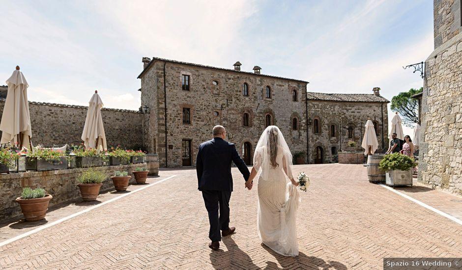 Il matrimonio di Paulo e Anna a Castelnuovo Berardenga, Siena