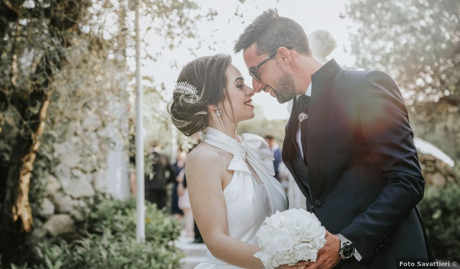 Il matrimonio di Gloria e Antonio a Vallelunga Pratameno, Caltanissetta