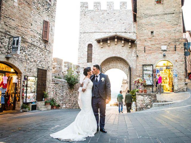 Il matrimonio di Francesco e Giusy a Assisi, Perugia 45