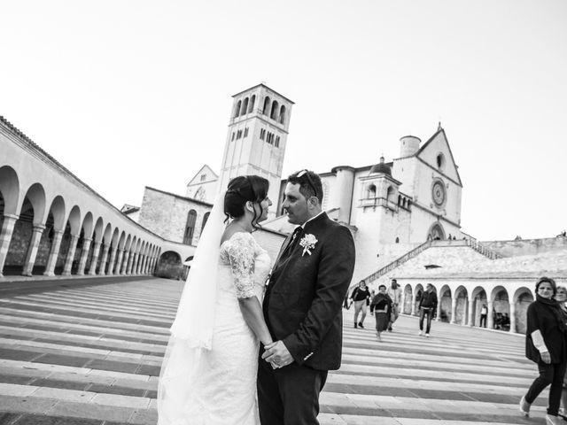 Il matrimonio di Francesco e Giusy a Assisi, Perugia 46