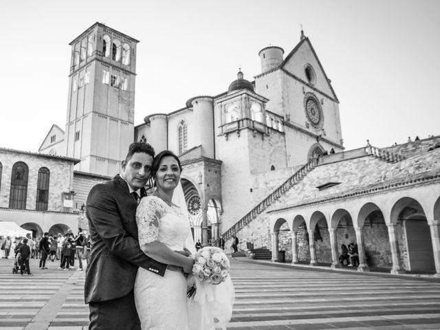 Il matrimonio di Francesco e Giusy a Assisi, Perugia 52