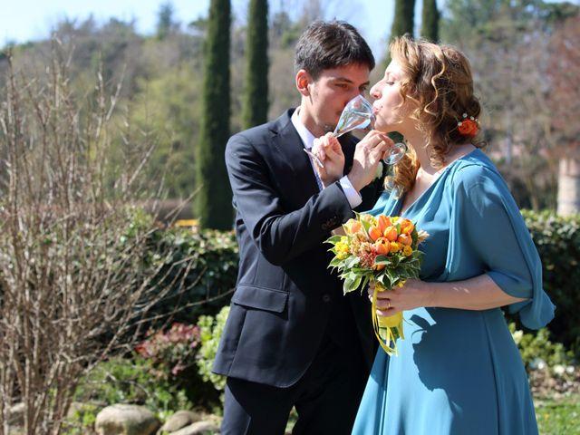 Il matrimonio di Francesco e Francesca a Cernusco Lombardone, Lecco 20