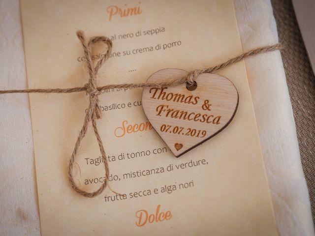 Il matrimonio di Thomas e Francesca a Villanova d'Albenga, Savona 34