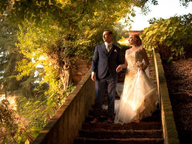 Le nozze di Aubrey e Michele