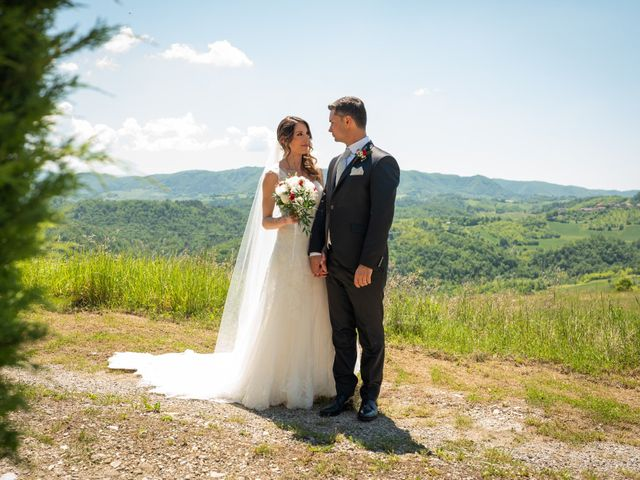 Il matrimonio di Gianluca e Fabiana a Fortunago, Pavia 31