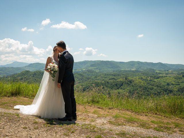 Il matrimonio di Gianluca e Fabiana a Fortunago, Pavia 32