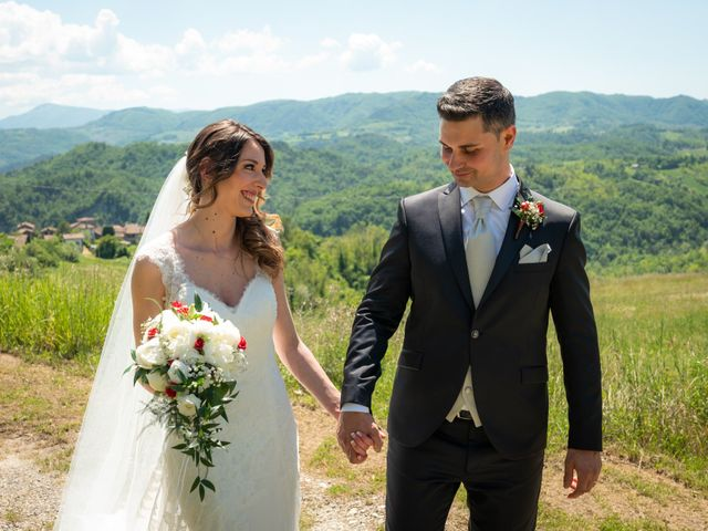 Il matrimonio di Gianluca e Fabiana a Fortunago, Pavia 33