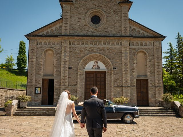 Il matrimonio di Gianluca e Fabiana a Fortunago, Pavia 34